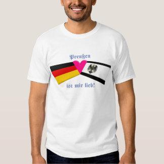 Amo lieb de los ist MIR de Prusia/de Preussen Polera