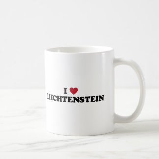 Amo Liechtenstein Taza Clásica
