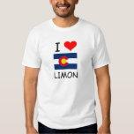 Amo LIMON Colorado Camisas