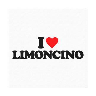 AMO LIMONCINO IMPRESION DE LIENZO