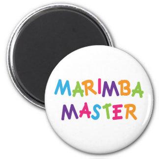 Amo lindo del Marimba Imán Para Frigorifico