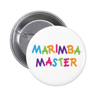 Amo lindo del Marimba Pins