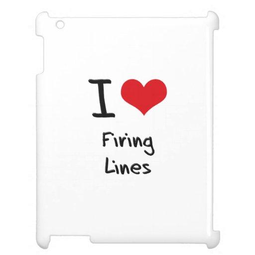 Amo líneas de fuego