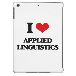 Amo lingüística aplicada funda para iPad air