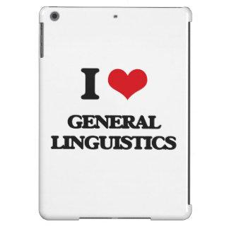 Amo lingüística general funda para iPad air
