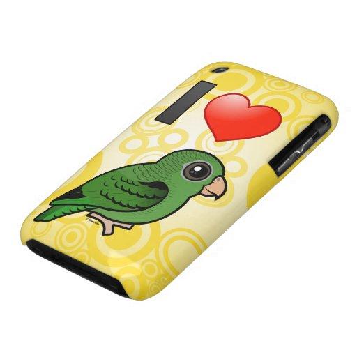 Amo Linnies verde iPhone 3 Case-Mate Carcasa