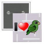 Amo Linnies verde Pin