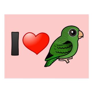 Amo Linnies verde Postales