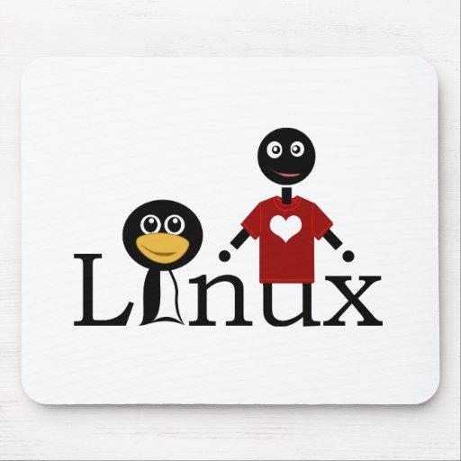 Amo Linux Alfombrilla De Ratón