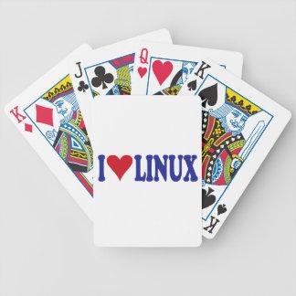 Amo Linux Baraja Cartas De Poker