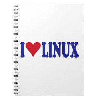 Amo Linux Libreta Espiral