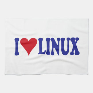 Amo Linux Toallas