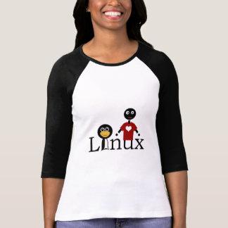 Amo Linux Playera