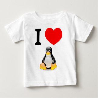 Amo Linux Playera De Bebé