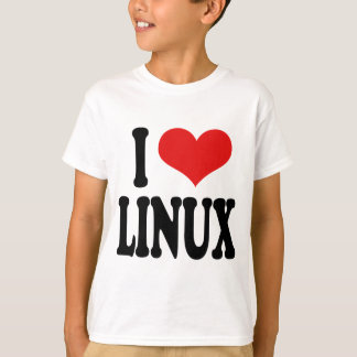 Amo Linux Remeras