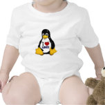 Amo Linux Trajes De Bebé