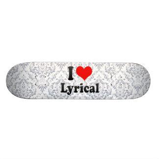 Amo lírico patineta personalizada