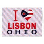 Amo Lisboa, Ohio Felicitaciones