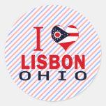 Amo Lisboa, Ohio Pegatina