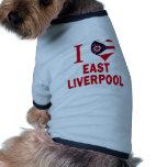 Amo Liverpool del este, Ohio Camisa De Perrito