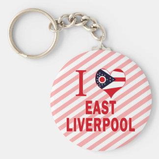 Amo Liverpool del este, Ohio Llaveros