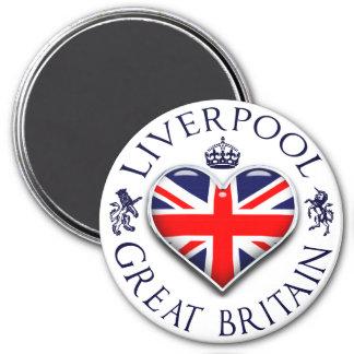 Amo Liverpool Imán Redondo 7 Cm