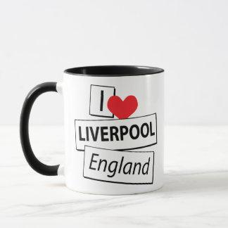 Amo Liverpool Inglaterra Taza