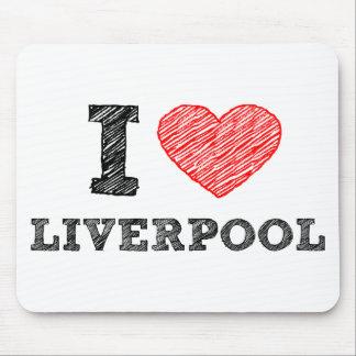 Amo Liverpool Tapete De Ratón