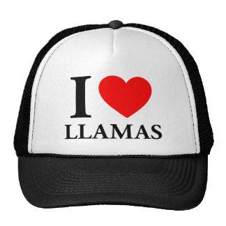 Amo llamas gorras