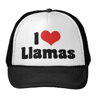 Amo llamas gorra