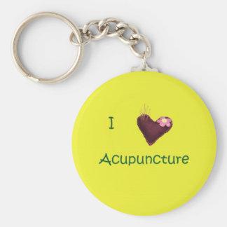 Amo llavero de la acupuntura