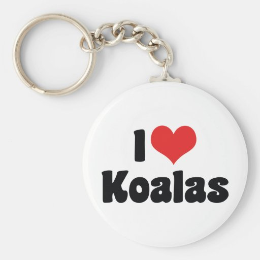 Amo llavero de las koalas