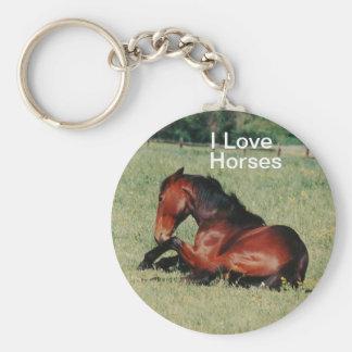 Amo llavero de los caballos