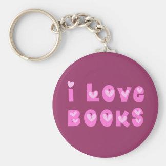 Amo llavero de los libros
