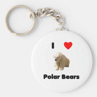 Amo llavero de los osos polares