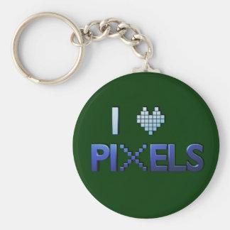 Amo llavero de los pixeles