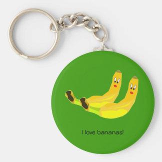 Amo llavero de los plátanos
