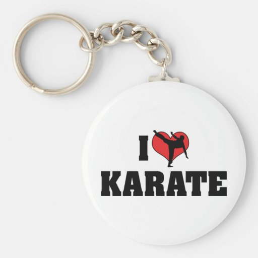 Amo llavero del karate