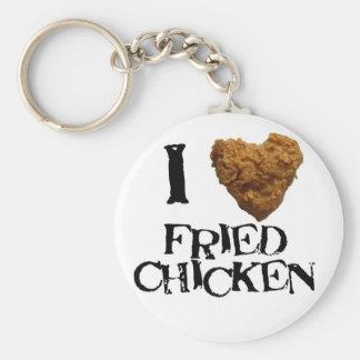 Amo llavero del pollo frito