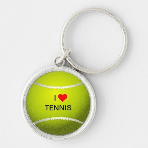Amo llavero del tenis