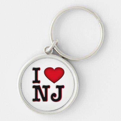 Amo llaveros de NJ