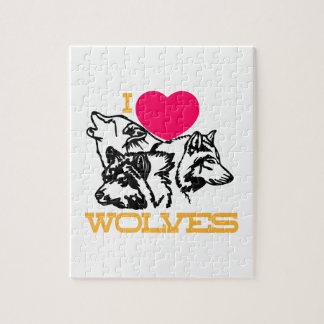 Amo lobos puzzles