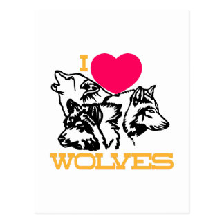 Amo lobos postales