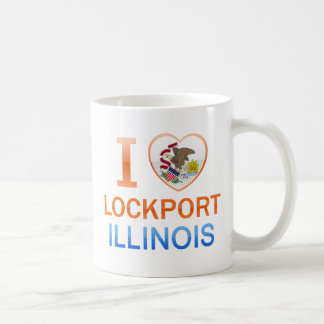 Amo Lockport, IL Taza Básica Blanca