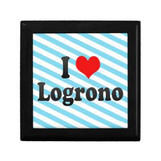 Amo Logrono, España Caja De Regalo