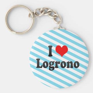 Amo Logrono, España Llaveros
