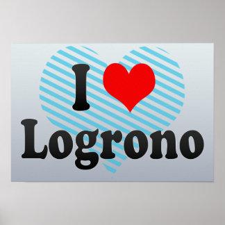 Amo Logrono, España Posters