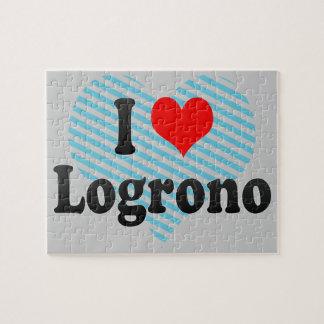 Amo Logrono, España Rompecabezas Con Fotos