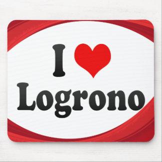 Amo Logrono, España Tapetes De Raton