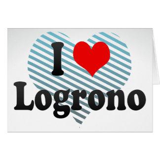Amo Logrono, España Tarjetas